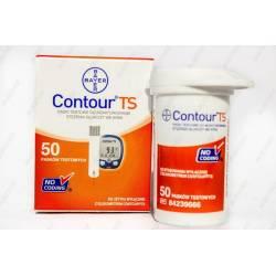 Тест-полоски для глюкометра Contour (Контур) TS №50