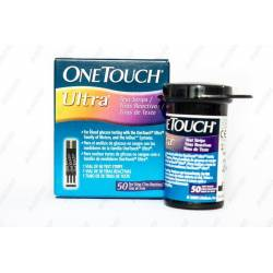 Тест-полоски для глюкометра OneTouch Ultra 50 шт