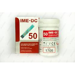 Тест смужки для глюкометра IME-DC №50