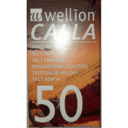 Тест-полоски для глюкометра Wellion CALLA №50