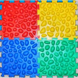 Массажный коврик-пазлы