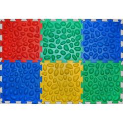Массажный коврик для стоп Ортек 6 пазлов