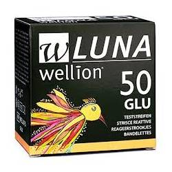 Тест-полоски для глюкометра Wellion LUNA №50
