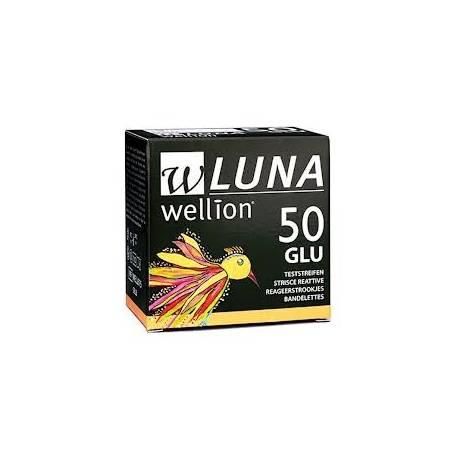 Тест-полоски для глюкометра Wellion LUNA №50