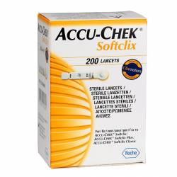 Ланцети для автопроколювача Accu-Chek Softclix, 200 шт.