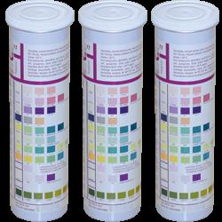 Тест-полоски URISCAN для исследования мочи U25 Nephro 6 (кровь, белок, нитриты, глюкоза, рН, лейкоциты), 100 шт.