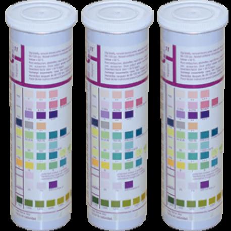 Тест-смужки URISCAN для дослідження сечі U25 Nephro 6  (кров, білок, нітрити, глюкоза, рН, лейкоцити), 100 шт.
