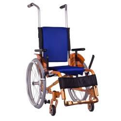 Візок дитячий складаний (колір помаранчевий) OSD-ADJK-М