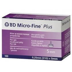 Голки BD Micro-Fine Plus 31G (0,25 х 5 мм)